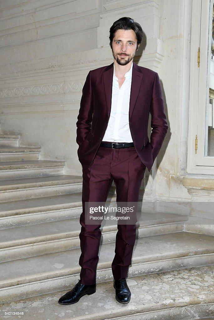 Valentino : Front Row  - Paris Fashion Week - Menswear Spring/Summer 2017