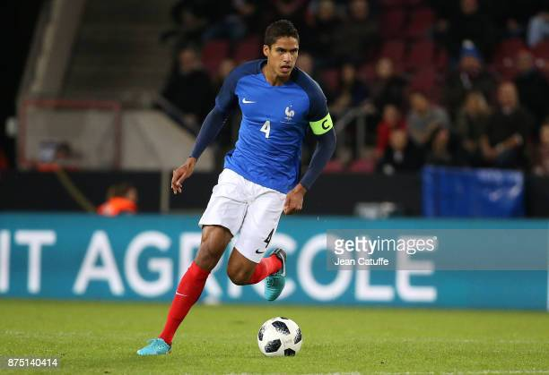 Raphael Varane of France during the international friendly match between Germany and France at RheinEnergieStadion on November 14 2017 in Cologne...