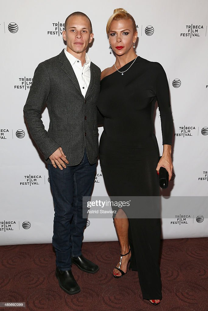 Raphael Vazquez and Sandy Alvarado attend the 'Mala Mala' Premiere during the 2014 Tribeca Film Festival at Chelsea Bow Tie Cinemas on April 19 2014...