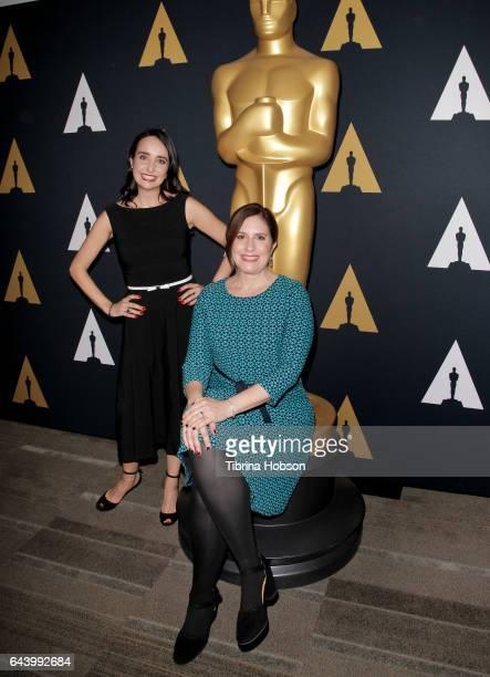 Raphaela Neihausen and Kahane Cooperman attend the 89th Annual Academy Awards Oscar Week 'Celebration of Documentaries' at Samuel Goldwyn Theater on...
