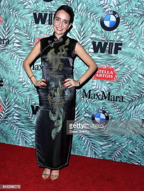 Raphaela Neihausen arrives at the 10th Annual Women In Film PreOscar Cocktail Party at Nightingale Plaza on February 24 2017 in Los Angeles California