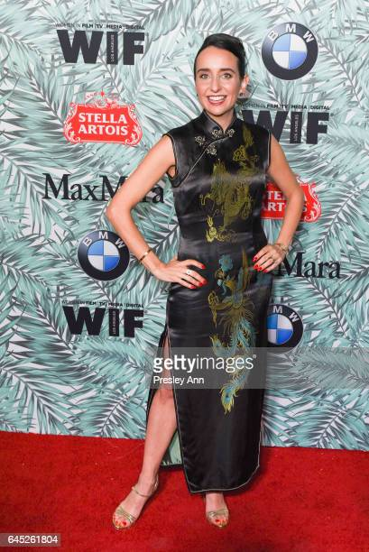 Raphaela Neihausen attends the 10th Annual Women In Film PreOscar Cocktail Party Arrivals at Nightingale Plaza on February 24 2017 in Los Angeles...