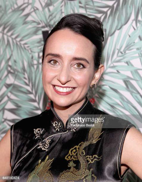 Raphaela Neihausen attends the tenth annual Women in Film PreOscar Cocktail Party presented by Max Mara and BMW at Nightingale Plaza on February 24...