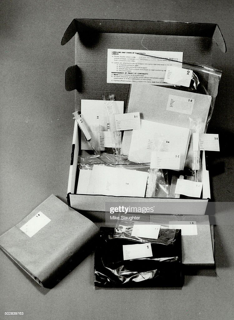Rapistcatching kit A box full of materials and instructions for doctors examining rape victims has been credited with raising the conviction rate of...