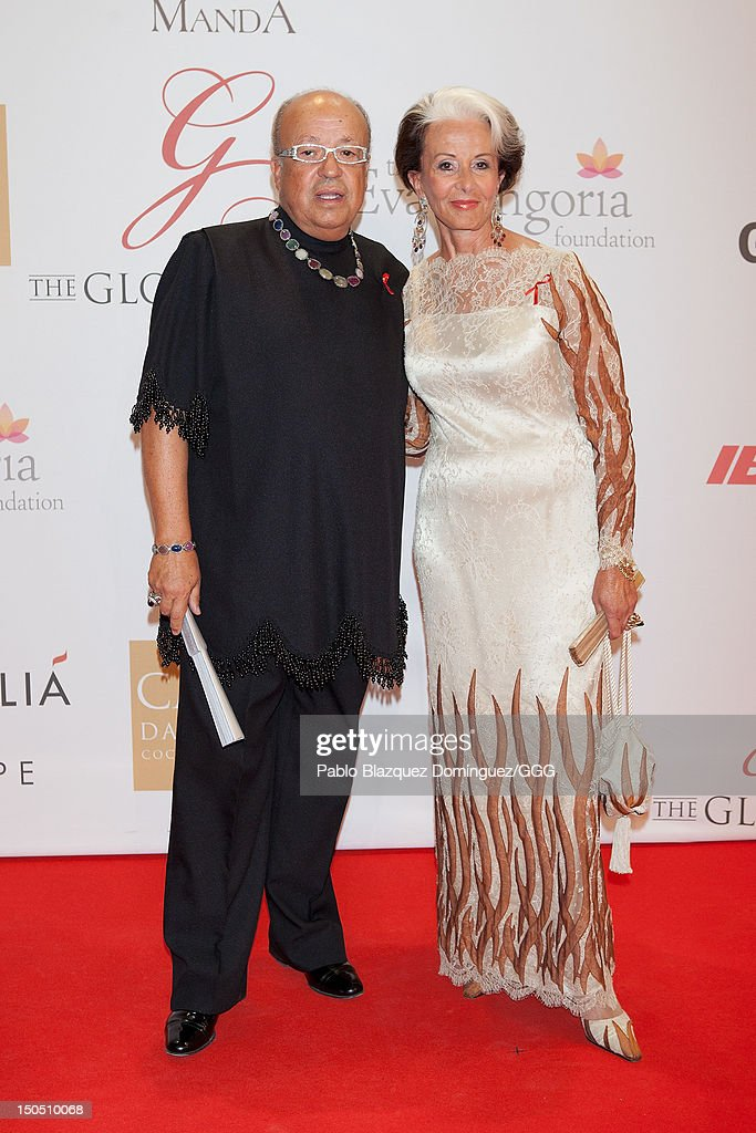 Rappel (L) attends the Global Gift Gala held to raise benefits for Cesare Scariolo Foundation and Eva Longoria Foundation on August 19, 2012 in Marbella, Spain.