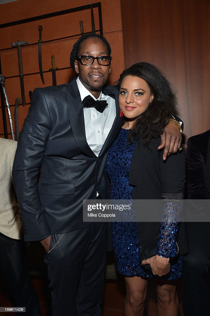 Rapper 2 Chainz and Marsha Ambrosius attend The Hip Hop Inaugural Ball II sponsored by Heineken USA at Harman Center for the Arts on January 20 2013...