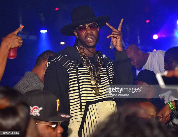Rapper 2 Chainz attends 2 Chainz Birthday Celebration at Compound on September 14 2015 in Atlanta Georgia