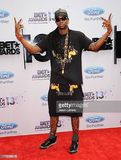 Rapper 2 Chainz attends the 2013 BET Awards at Nokia Theatre LA Live on June 30 2013 in Los Angeles California