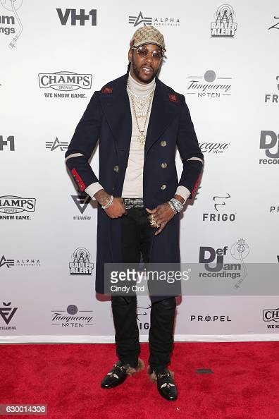 Rapper 2 Chainz attends The 2016 Def Jam Holiday Party sponsored by VH1 'The Breaks' Champs Sports Tanqueray 10 Zacapa Rum at Spring Place on...