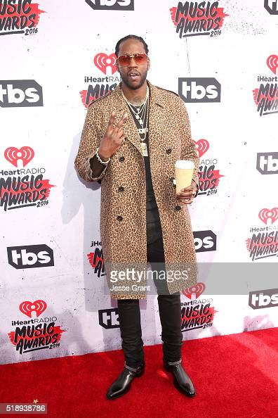 Rapper 2 Chainz attends the iHeartRadio Music Awards at The Forum on April 3 2016 in Inglewood California