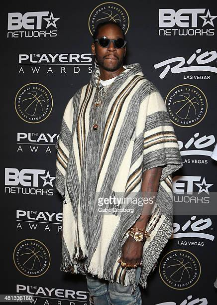 Rapper 2 Chainz attends The Players' Awards presented by BET at the Rio Hotel Casino on July 19 2015 in Las Vegas Nevada