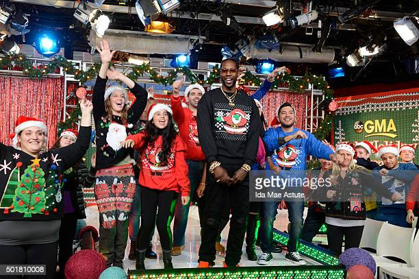 AMERICA Rapper 2 Chainz hosts the annual GMA Ugly Sweater Contest on GOOD MORNING AMERICA 12/17/15 airing on the ABC Television Network 2 CHAINZ...