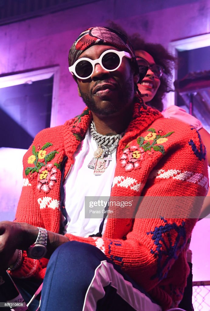 Rapper 2 Chainz performs in concert during 'Pretty Girls Like Trap Music' tour at The Tabernacle on October 3, 2017 in Atlanta, Georgia.
