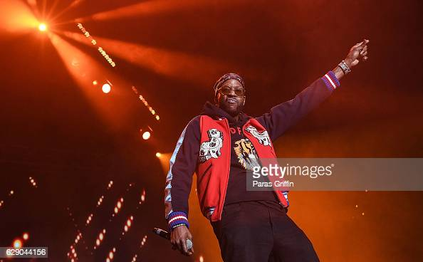 Rapper 2 Chainz performs onstage at 2016 V103 Winterfest at Philips Arena on December 10 2016 in Atlanta Georgia