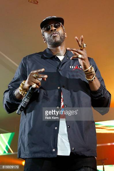 Rapper 2 Chainz performs onstage at Samsung Galaxy Life Fest at SXSW 2016 on March 12 2016 in Austin Texas
