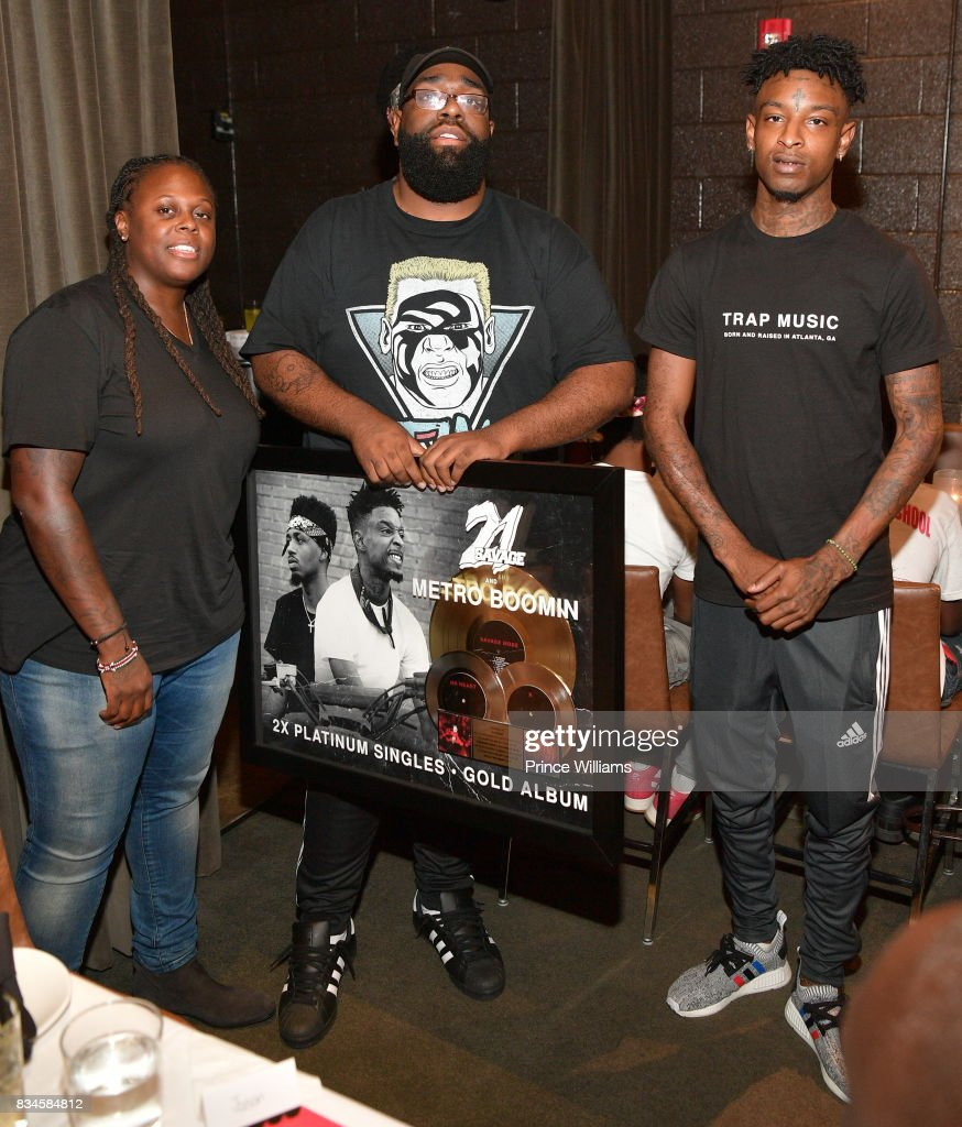 Rapper 21 Savage attends an ascap Dinner for 21 Savage at KR Steakhouse on August 17, 2017 in Atlanta, Georgia.