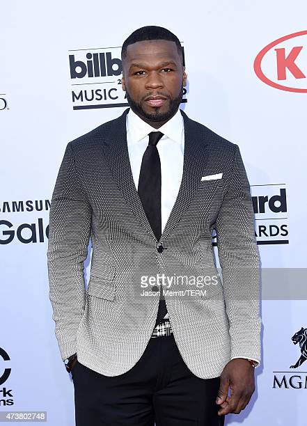 Rapper 50 Cent attends the 2015 Billboard Music Awards at MGM Grand Garden Arena on May 17 2015 in Las Vegas Nevada