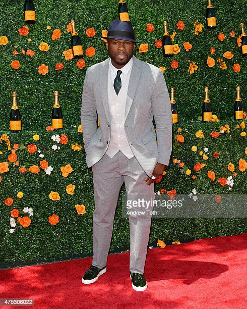 Rapper 50 Cent attends the 8th Annual Veuve Clicquot Polo Classic at Liberty State Park on May 30 2015 in Jersey City New Jersey
