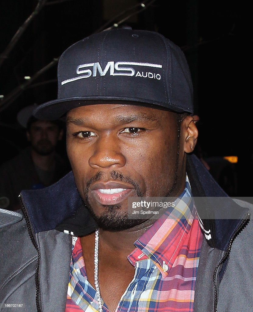 Rapper <a gi-track='captionPersonalityLinkClicked' href=/galleries/search?phrase=50+Cent+-+Rapper&family=editorial&specificpeople=215363 ng-click='$event.stopPropagation()'>50 Cent</a> attends The Cinema Society and Men's Fitness screening of 'Pain and Gain' at Crosby Street Hotel on April 15, 2013 in New York City.