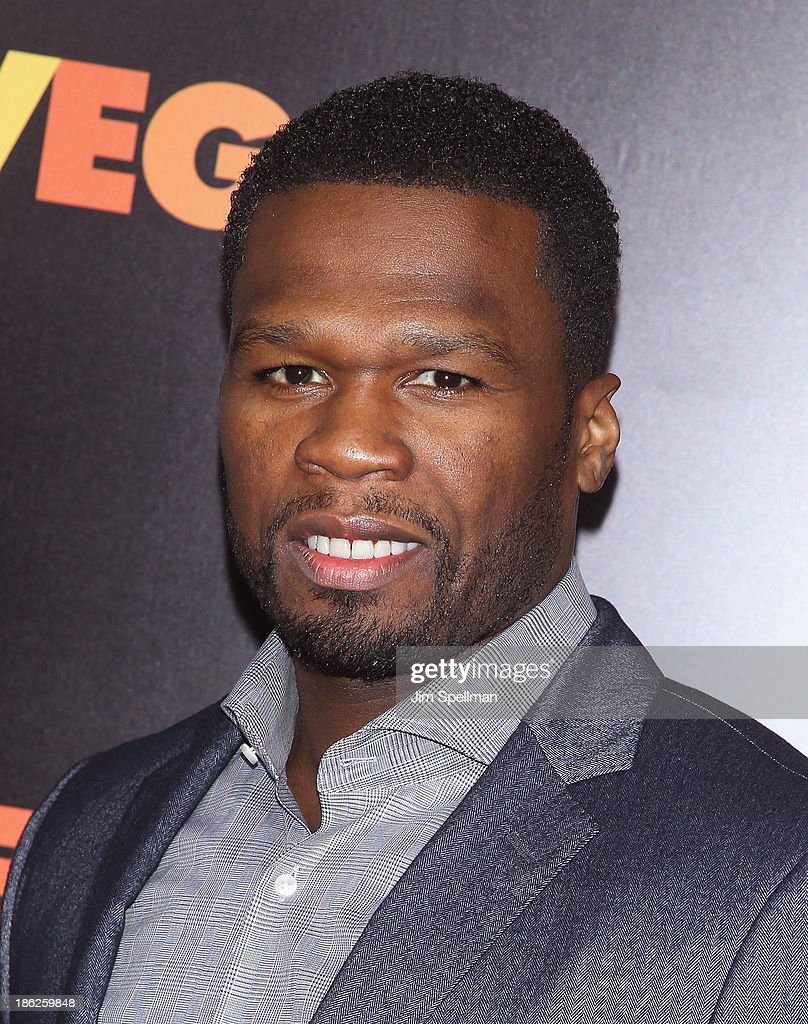 Rapper <a gi-track='captionPersonalityLinkClicked' href=/galleries/search?phrase=50+Cent+-+Rapper&family=editorial&specificpeople=215363 ng-click='$event.stopPropagation()'>50 Cent</a> attends the 'Last Vegas' premiere at the Ziegfeld Theater on October 29, 2013 in New York City.