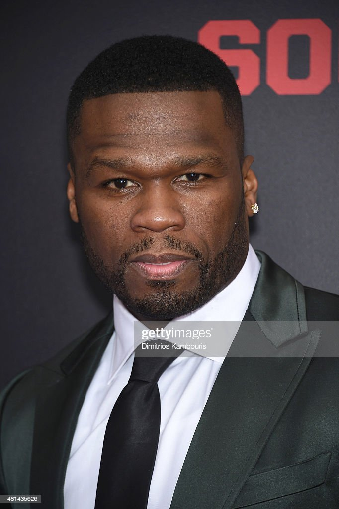 Rapper <a gi-track='captionPersonalityLinkClicked' href=/galleries/search?phrase=50+Cent+-+Rapper&family=editorial&specificpeople=215363 ng-click='$event.stopPropagation()'>50 Cent</a> attends the 'Southpaw' New York Premiere at AMC Loews Lincoln Square on July 20, 2015 in New York City.