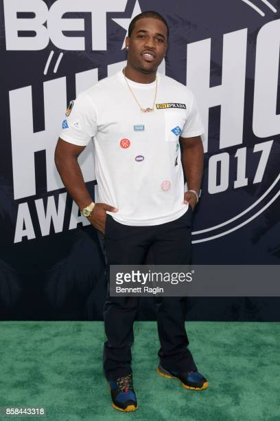Rapper A$AP Ferg attends the BET Hip Hop Awards 2017 at The Fillmore Miami Beach at the Jackie Gleason Theater on October 6 2017 in Miami Beach...