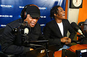 Rapper A$AP Rocky visits Sway in the Morning' with Sway Calloway on Eminem's Shade 45 the SiriusXM Studios on May 27 2015 in New York City