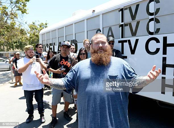 Rapper Action Bronson attends The 'VICELAND' ComicCon Party Bus at San Diego Convention Center on July 22 2016 in San Diego California
