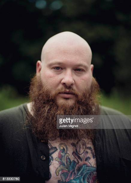 Rapper Action Bronson is photographed for We Love Green Festival on June 10 2017 in Paris France