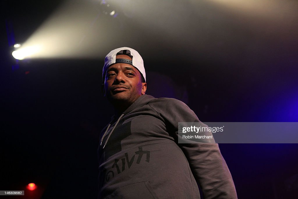 Rapper Albert 'Prodigy' Johnson performs at the 2012 Rock the Bells Festival press conference and fan appreciation party at Santos Party House on June 13, 2012 in New York City.
