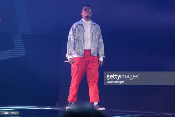 Rapper Anatii during the DStv Mzansi Viewers Choice Awards event at the Sandton Convention Centre on August 26 2017 in Sandton South Africa Hosted by...