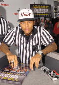 Rapper and actor Bow Wow promotes 'Lottery Ticket' at Foot Locker Herald Square on August 16 2010 in New York City