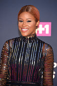Rapper and host Eve attends the VH1 Hip Hop Honors All Hail The Queens at David Geffen Hall on July 11 2016 in New York City