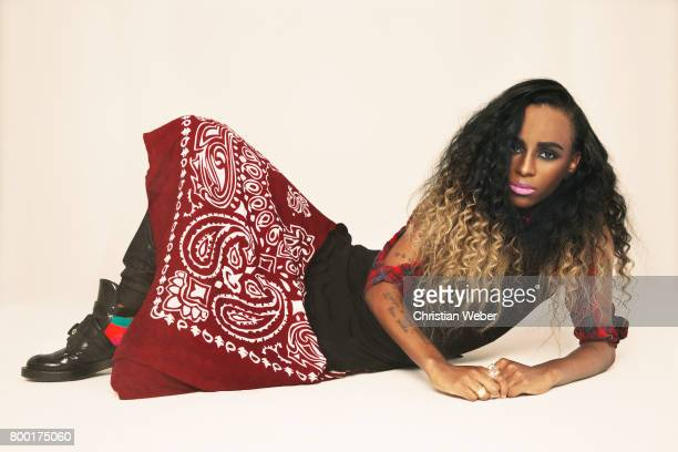 Rapper Angel Haze photographed for New York Magazine in December 2013 in Los Angeles California