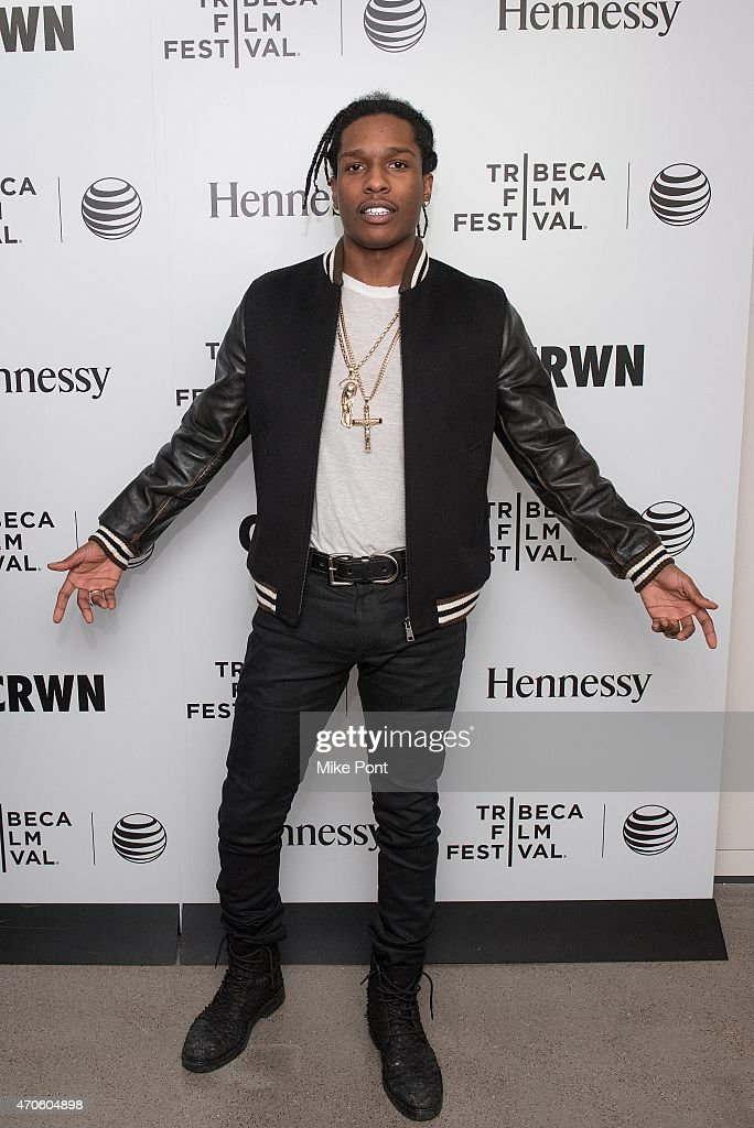Rapper <a gi-track='captionPersonalityLinkClicked' href=/galleries/search?phrase=ASAP+Rocky&family=editorial&specificpeople=8562085 ng-click='$event.stopPropagation()'>ASAP Rocky</a> attends 2015 Tribeca Film Festival - Tribeca Talks: CRWN With Elliott Wilson And A$AP Rocky at Spring Studios on April 21, 2015 in New York City.