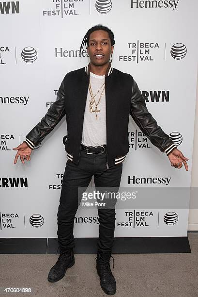 Rapper ASAP Rocky attends 2015 Tribeca Film Festival Tribeca Talks CRWN With Elliott Wilson And A$AP Rocky at Spring Studios on April 21 2015 in New...