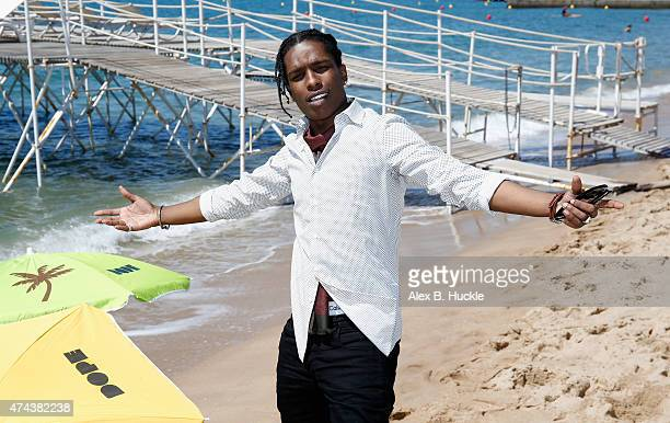 Rapper ASAP Rocky attends a photocall for 'Dope' during the 68th annual Cannes Film Festival on May 22 2015 in Cannes France