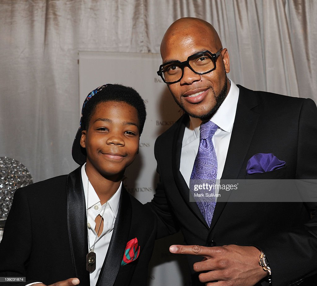 Rapper Astro and <a gi-track='captionPersonalityLinkClicked' href=/galleries/search?phrase=Flo+Rida&family=editorial&specificpeople=4456012 ng-click='$event.stopPropagation()'>Flo Rida</a> in Backstage Creations Celebrity Retreat at 2012 NAACP Image Awards at The Shrine Auditorium on February 17, 2012 in Los Angeles, California.