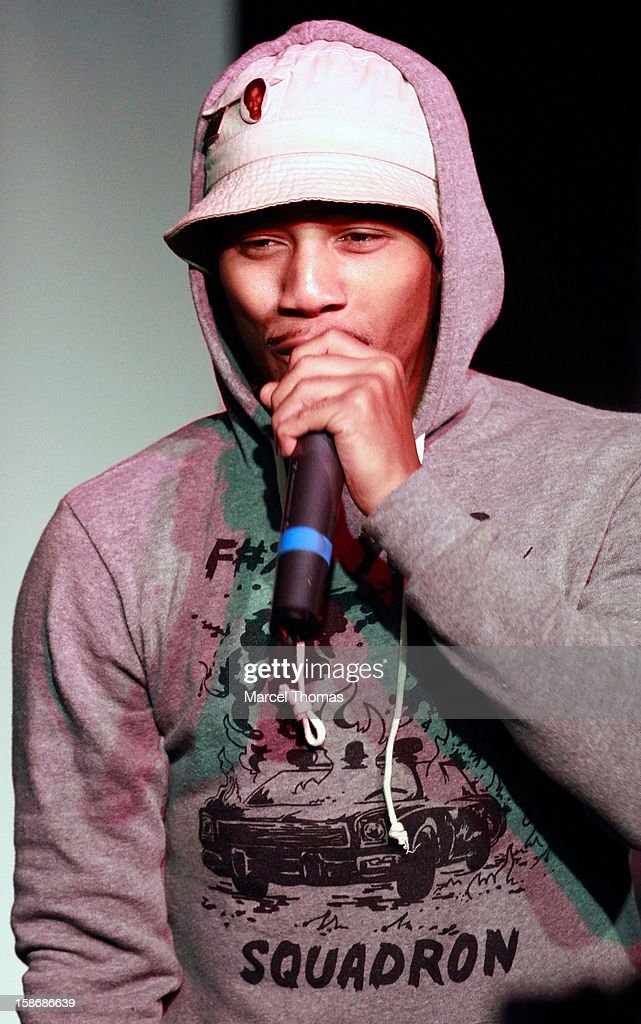 Rapper B YOUNG of the rap group Pac Div performs at the Hard Rock Cafe on December 22, 2012 in Las Vegas, Nevada.