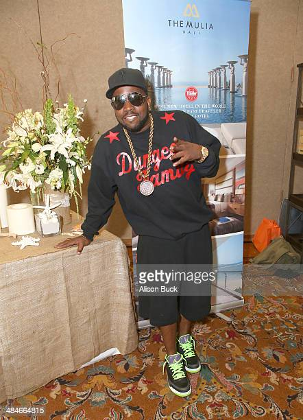 Rapper Big Boi attends the Kari Feinstein Music Festival Style Lounge at La Quinta Resort and Club on April 13 2014 in La Quinta California