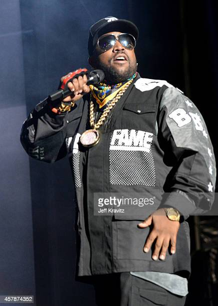 Rapper Big Boi of Outkast performs onstage during day 2 of the 2014 Life is Beautiful festival on October 25 2014 in Las Vegas Nevada