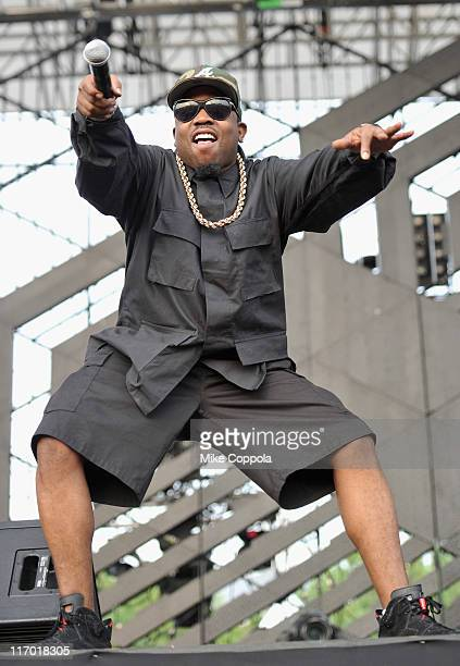 Rapper Big Boi performs during the 2011 Governors Ball music festival on Governors Island on June 18 2011 in New York City