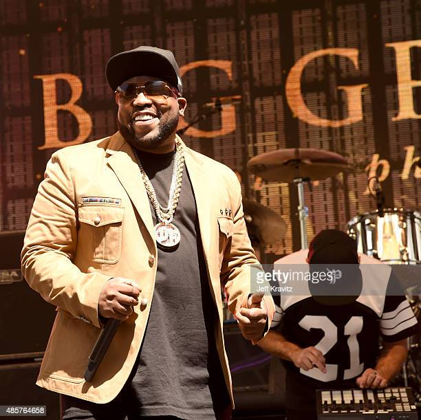 Rapper Big Boi performs onstage at EpicFest presented by Chairman and CEO of Epic Records LA Reid at Sony Pictures Studios on August 29 2015 in...