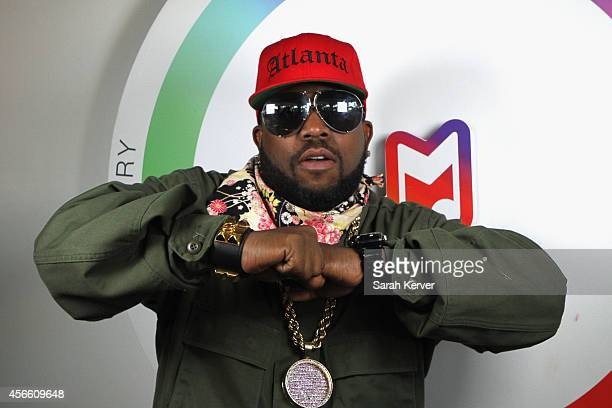 Rapper Big Boi stops by the Samsung Galaxy Owner's Lounge to create a #GalaxyVine at the Austin City Limits Music Festival on October 3 2014 in...