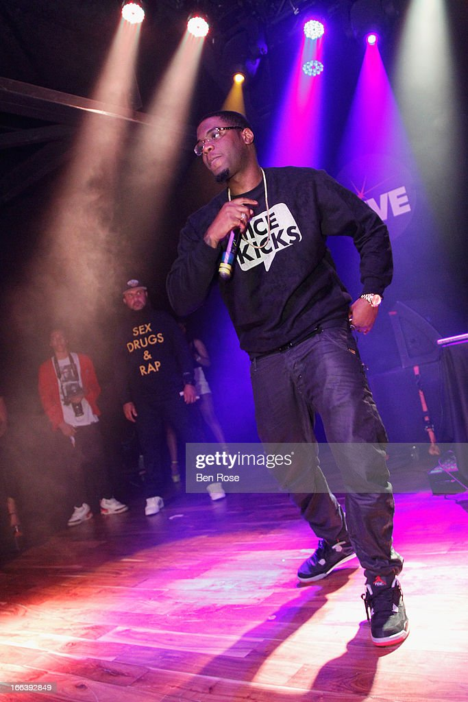 Rapper Big KRIT performs during BMI's 15th annual Unsigned Urban showcase at Terminal West on April 11, 2013 in Atlanta, Georgia.