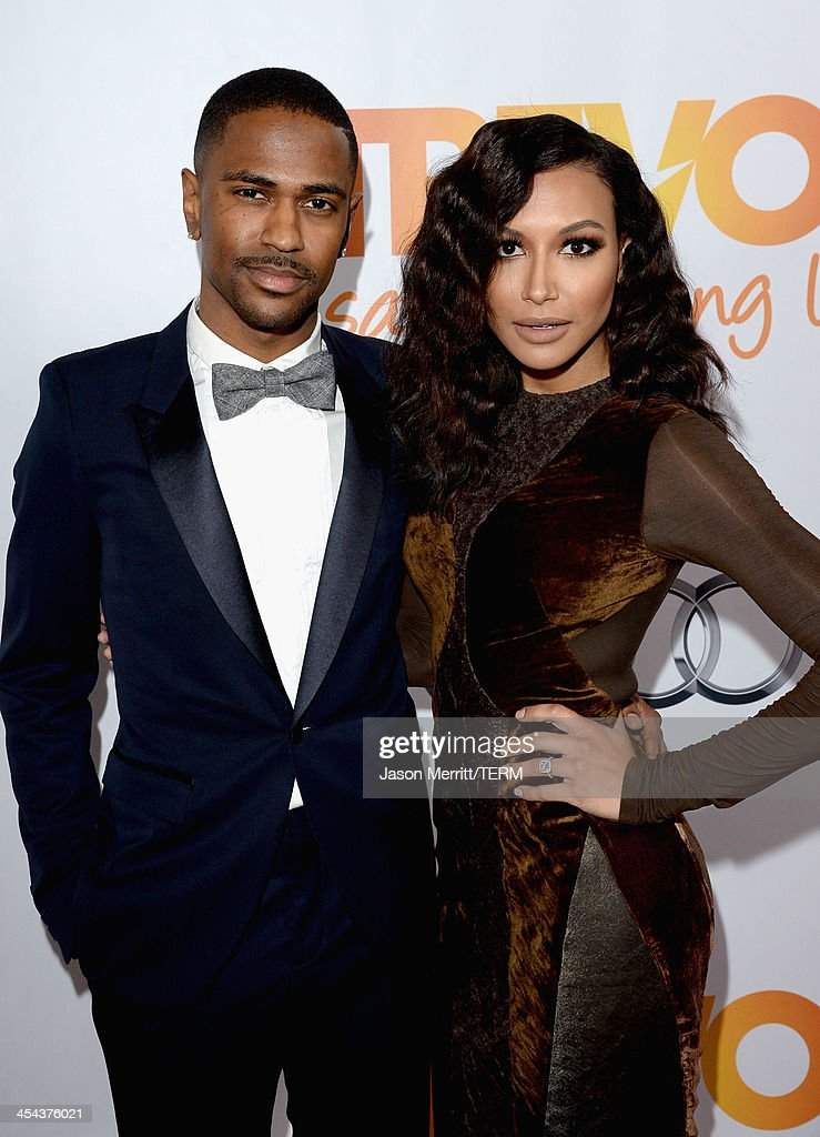 Rapper Big Sean and actress Naya Rivera attend 'TrevorLIVE LA' honoring Jane Lynch and Toyota for the Trevor Project at Hollywood Palladium on December 8, 2013 in Hollywood, California.