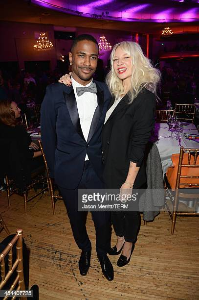 Rapper Big Sean and singer Sia attend 'TrevorLIVE LA' honoring Jane Lynch and Toyota for the Trevor Project at Hollywood Palladium on December 8 2013...