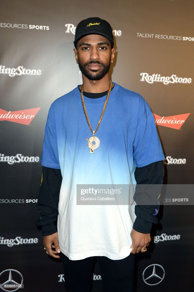 Rapper Big Sean at the Rolling Stone Live: Houston presented by Budweiser and Mercedes-Benz on February 4, 2017 in Houston, Texas. Produced in partnership with Talent Resources Sports.