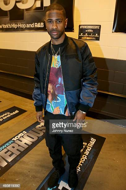 Rapper Big Sean attends Power 1051's Powerhouse 2015 at the Barclays Center on October 22 2015 in Brooklyn NY