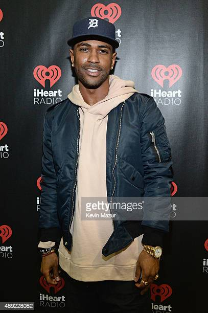 Rapper Big Sean attends the 2015 iHeartRadio Music Festival at MGM Grand Garden Arena on September 19 2015 in Las Vegas Nevada